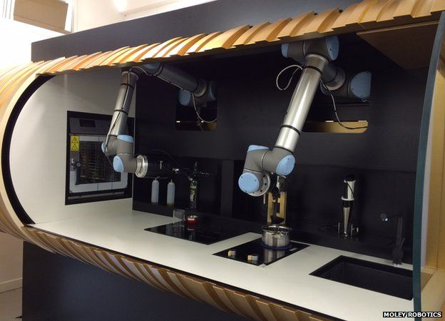 Robot Chef Aimed At Home Kitchen Bbc News
