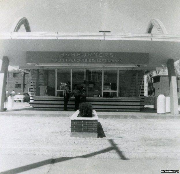 Ray Kroc's first restaurant