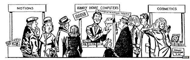 Gordon Moore cartoon