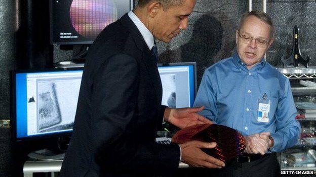 Mr Bohr and President Obama