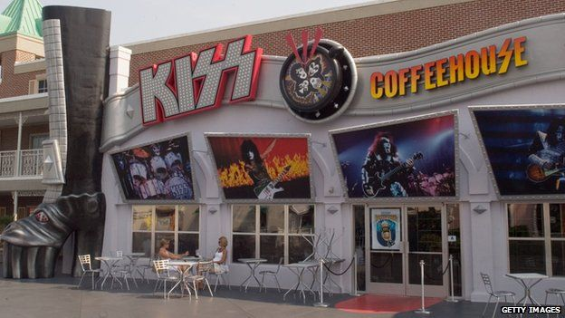 The Kiss coffee shop in Myrtle Beach, South Carolina