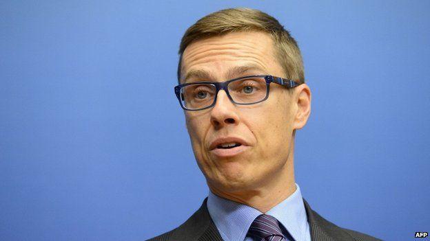 Prime Minister of Finland Alexander Stubb
