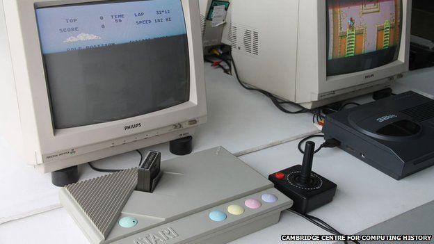 Atari home computer