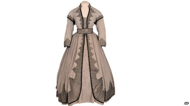 An outfit worn by Vivien Leigh in the film Gone with the Wind