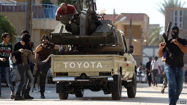 Militia clashes in Libya