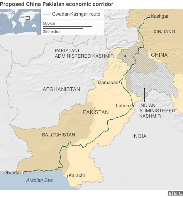 Is ChinaPakistan Silk Road A Gamechanger BBC News - Us new silk road map