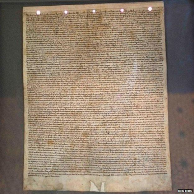 Copy of Magna Carta for every UK primary school - BBC News