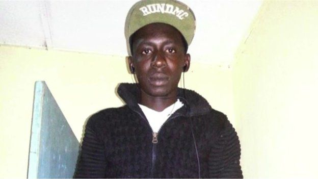 Baboucar Ceesay from the Gambia