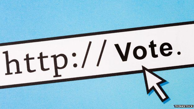 text reads: http:// Vote.