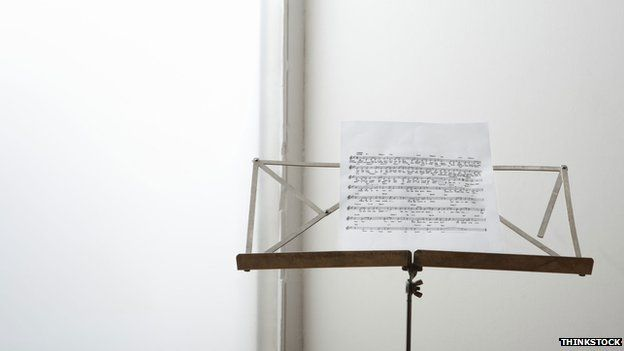 A music stand
