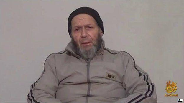 Warren Weinstein appeared in a video in 2013