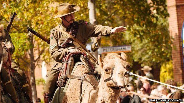 Marrickville in Sydney commemorates WW1 centenary