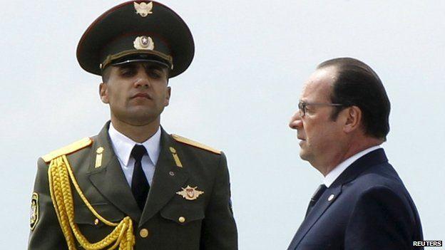 Francois Hollande, 24 April