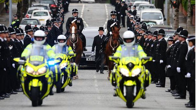 sgt louise lucas funeral for swansea death crash officer bbc news