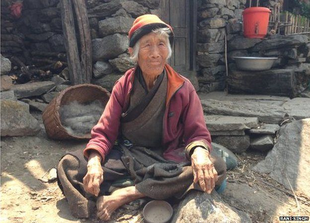 Passing Lama, Tibetan refugee in Bridim village