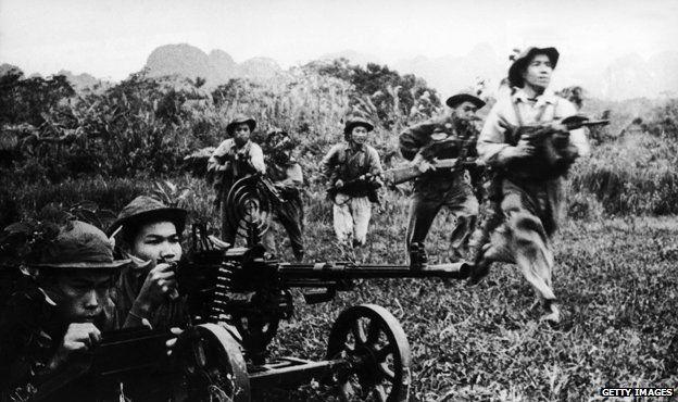 Vietcong soldiers, circa 1968