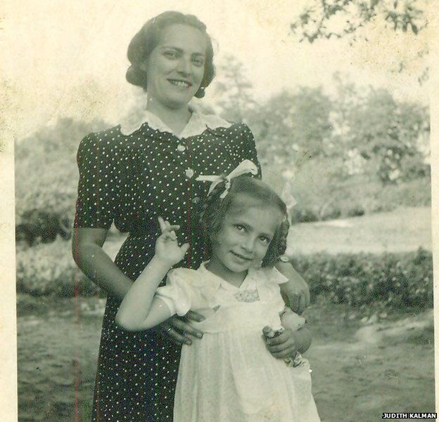 Evike with her mother Mancika Weinberger