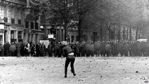 1968 Paris student protests