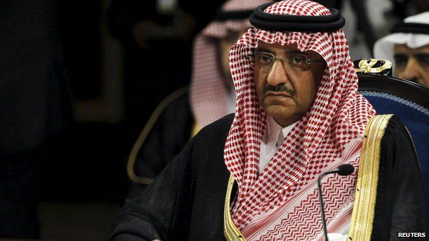 Prince Mohammed bin Nayef in 2013 file photo