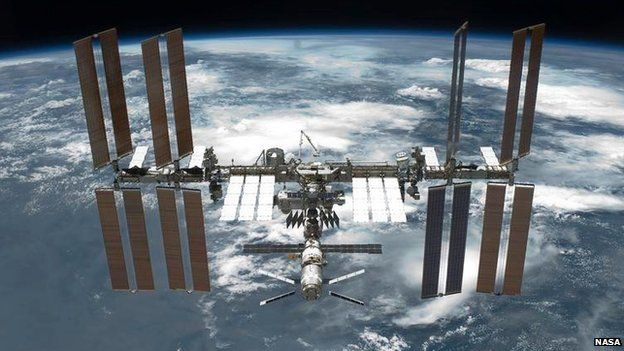 The International Space Station ISS is seen in orbit over planet Earth after undocking from the Space Shuttle Endeavour in this photo provided by NASA May 29, 2011.