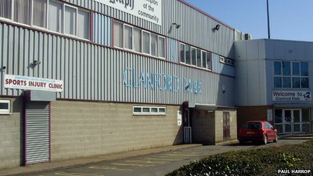 Glanford Park football ground, Scunthorpe