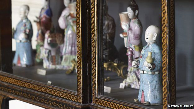 Porcelain at Clandon Park House