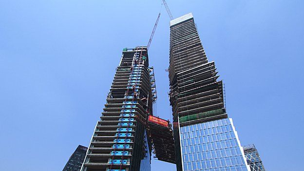 Tencent's new office buildings