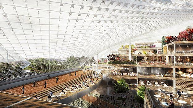 An architect's view of what the new Googleplex will look like