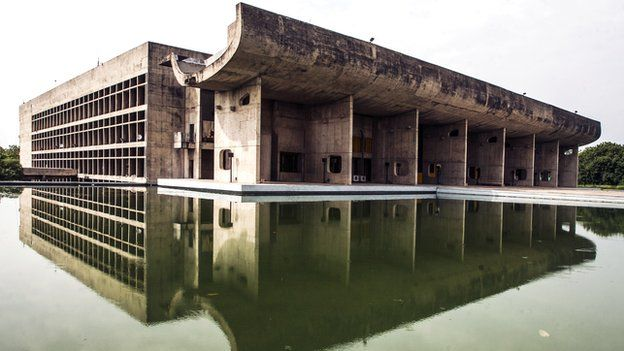 The Palace of Assembly, Chandigarh, India