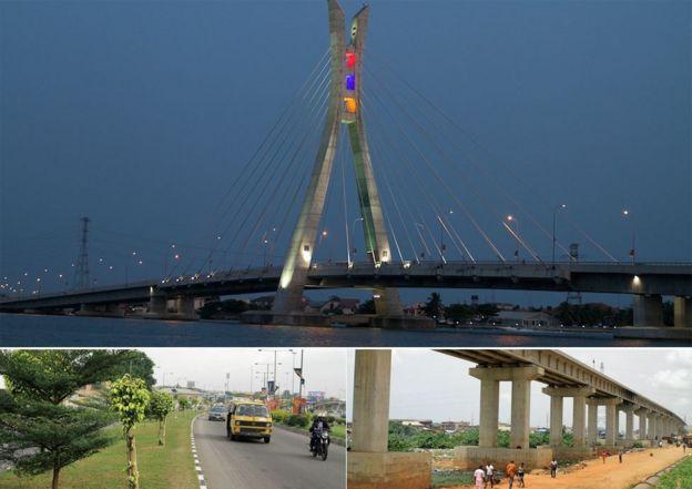 nigeria in pictures lagos facelift bbc news