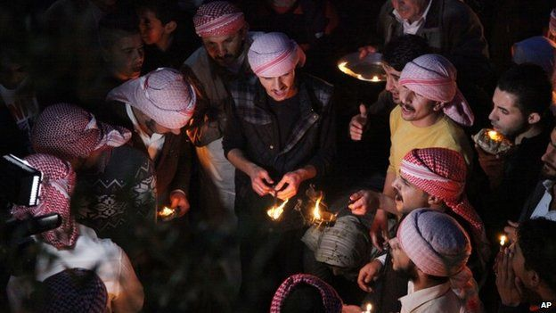 Yazidis celebrate New Year, 15 April 2015