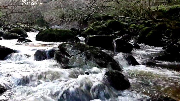 Cladagh River in Florencecourt, County Fermanagh