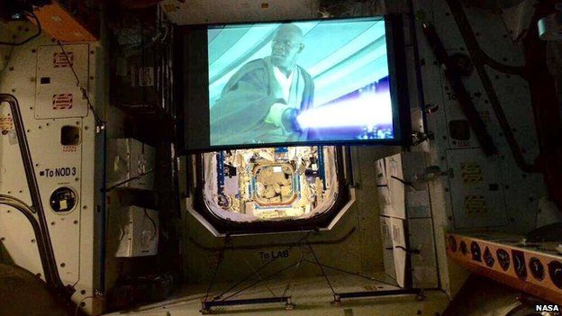 Star Wars in space