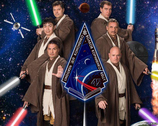 ISS mission Jedis