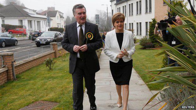 John Nicolson and Nicola Sturgeon