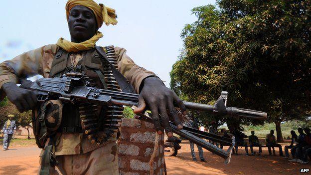 A Seleka rebel in 2013