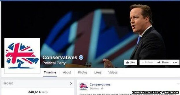 Conservative Facebook page
