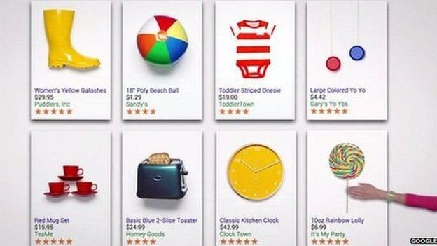 Google shopping service