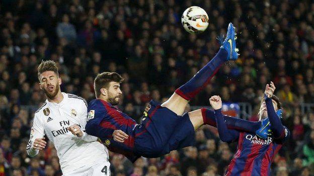 Barcelona-Real Madrid match. Photo: 22 March 2015