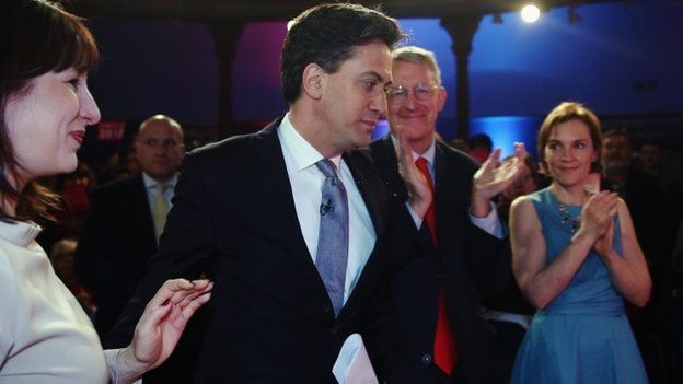 Ed Miliband and wife Justine