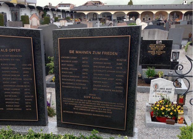 Sepp Gangl memorial