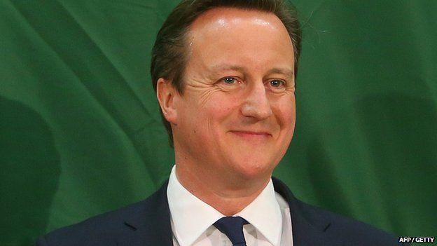 David Cameron in Witney