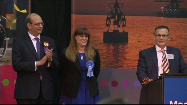 Kelly Tolhurst wins Rochester and Strood