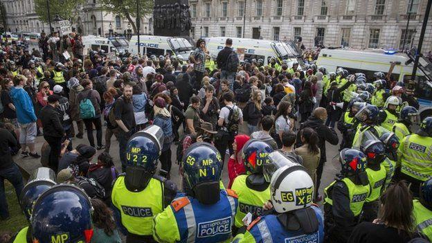 Anti-government protest