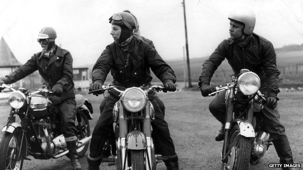 Motorcyclists 1960
