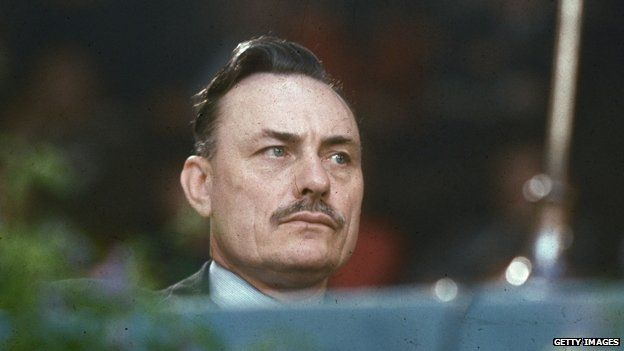Enoch POwell, photographed in 1965