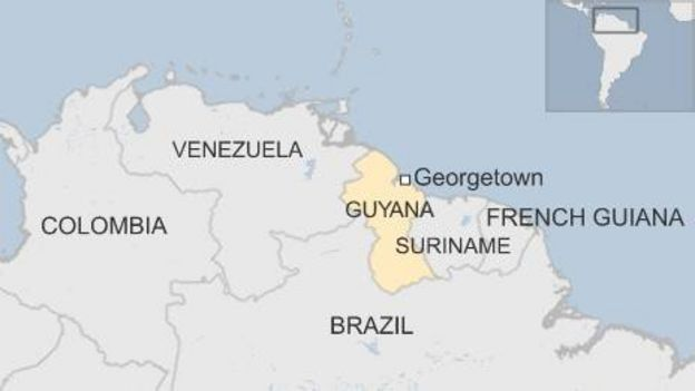 Guyana Votes In General Election BBC News - Brazil election map
