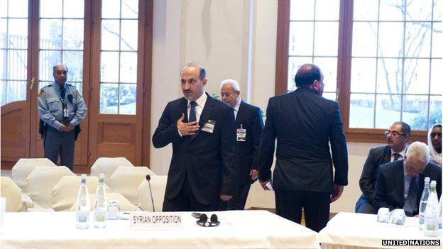 Delegates at Geneva II peace conference (22/01/13)