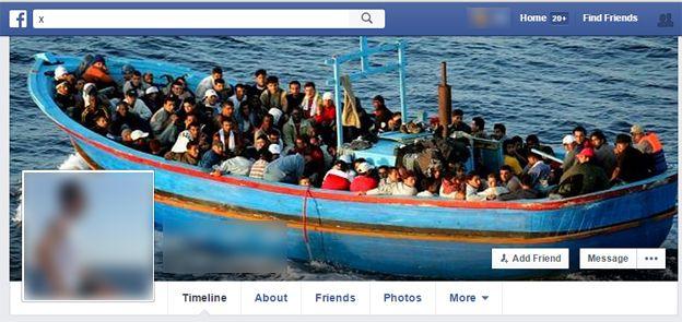 Screenshot of Abdul Aziz's Facebook page