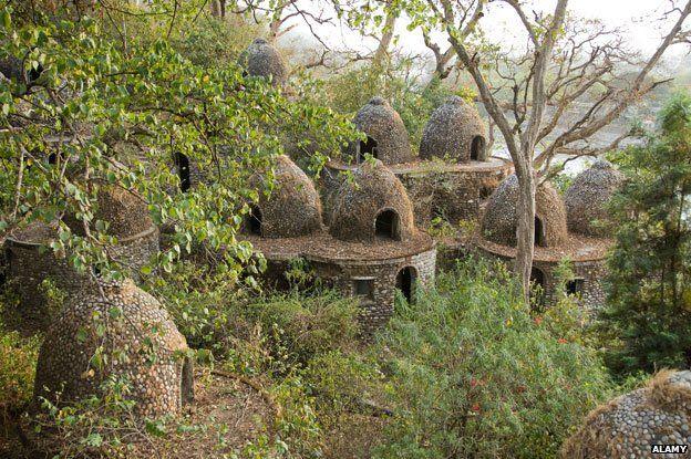 Meditation caves at Rishikesh